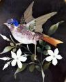 Bronzový rámeček s ptáčkem - Pietra dura (3).JPG