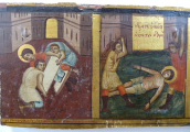 Ikona s výjevem ze života svatého Jiří (2).JPG