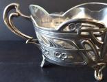 Secesní stříbrná miska, se skleněnou vložkou (5).JPG