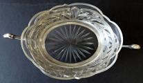 Secesní stříbrná miska, se skleněnou vložkou (2).JPG