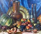 Fritz Baum - Zátiší s ovocem a džbánem (4).JPG