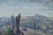 Jan B. Plaček - Karlův most a Pražský Hrad  (2).JPG