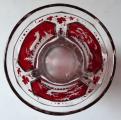Pohár s rubínovým sklem a rytými motivy - biedermeier (4).JPG