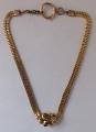Zlatý dvojitý řetízek, s kartuší - biedermeier (1).JPG