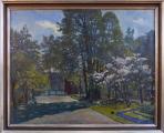 Pavlo Gromnickij - Královská zahrada na Pražském Hradě (1).JPG