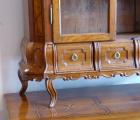 Dubová intarzovaná komoda, s nástavcem - 18. století (2).JPG