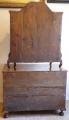 Dubová intarzovaná komoda, s nástavcem - 18. století (9).JPG