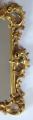 Dřevěné zlacené zrcadlo, s barokní řezbou - Haff & Pisa (4).JPG