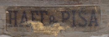 Dřevěné zlacené zrcadlo, s barokní řezbou - Haff & Pisa (7).JPG