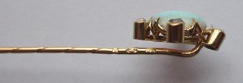 Zlatá jehlice s opálem a diamanty (5).JPG
