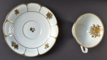 Konvička a dva šálky, zlaté kvítky - Rosenthal (4).JPG