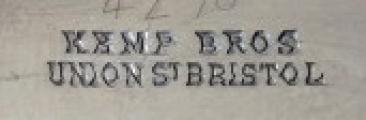 Stříbrná mísa, na noze - Kemp Bros Union St Bristol (6).JPG