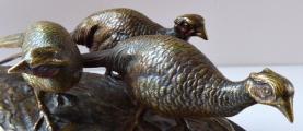 Vídeňské bronzové sousoší - Bažanti (5).JPG