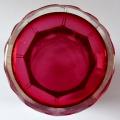 Biedermeierová sklenice s rozvilinami a nápisem - Z přátelství (5).JPG