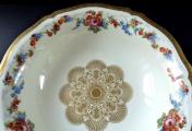 Větší porcelánová mísa - Rosenthal, Chippendale (3).JPG