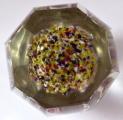 Těžítko s pěti barevnými žíhanými květy, s fazetami (5).JPG