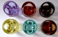 Šest barevných skleniček Moser, Bar, R. Eschler (3).JPG