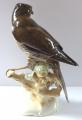 Sokol či krahujec na větvi - K. Tutter, Hutschenreuther (2).JPG