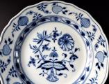 Porcelánový talíř s cibulovým vzorem - Míšeň (3).JPG