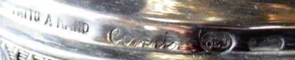 Stříbrná mísa v empírovém stylu - Arno Fassi, Milano (6).JPG