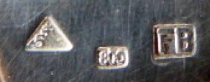 Stříbrný příbor, cestovní, v etui - Franz Bibus (5).JPG