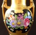 Zlacená a malovaná váza, amfora - Dresden (4).JPG