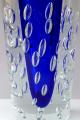 Větší váza s modrým středem a bublinkami - Jaroslav Svoboda (3).JPG