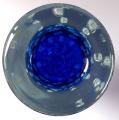 Větší váza s modrým středem a bublinkami - Jaroslav Svoboda (4).JPG