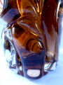 Větší váza z ambrového skla - František Vízner (3).JPG