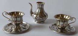 Stříbrné dětské nádobíčko - Francois Labat, Francie (1).JPG