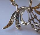 Brož s bílého zlata, s diamanty a brilianty - 1,15 ct (7).JPG