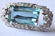 Art deco brož, přívěsek, 38 diamantů 1,5 ct - akvamarín 54,5 ct (1).JPG