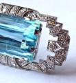 Art deco brož, přívěsek, 38 diamantů 1,5 ct - akvamarín 54,5 ct (3).JPG