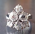 Luxusní prsten z bílého zlata, s diamanty briliantového brusus (2).JPG