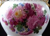 Reprezentativní velká míšeňská váza, malované květiny (5).JPG
