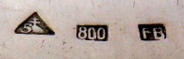 Stříbrné příbory pro dvanáct osob, v etui - styl art deco (8).JPG