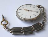 Stříbrné kapesní hodinky se šatlénem (2).JPG
