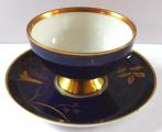 Kobaltový a zlacený moka šálek - Johann Haviland (2).JPG
