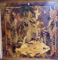 Bar se skříňkou, intarzie s exotickým motivem - Art Deko (2).JPG