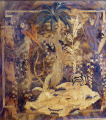Bar se skříňkou, intarzie s exotickým motivem - Art Deko (3).JPG