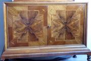 Bar se skříňkou, intarzie s exotickým motivem - Art Deko (4).JPG