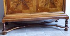 Bar se skříňkou, intarzie s exotickým motivem - Art Deko (5).JPG