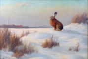 Heinz Roder - Zajíc na sněhu (2).JPG