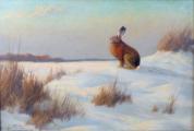 Heinz Roder - Zajíc na sněhu (3).JPG
