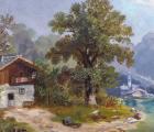 M. Brass - Projížďka loďkou na horském jezeru(4).JPG