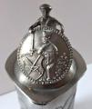 Cínový korbel, figurální víčko - Johann Michael Pschorn, Německo (3).JPG