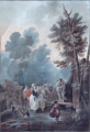 Charles Melchior Descourtis - Venkovská slavnost (3).JPG
