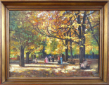 Jeno Lukai Takach - Podzim v parku (1).JPG