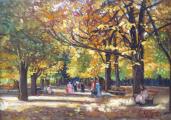 Jeno Lukai Takach - Podzim v parku (2).JPG