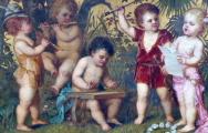 Franz Lefler - Dětská kapela v zahradě (3).JPG